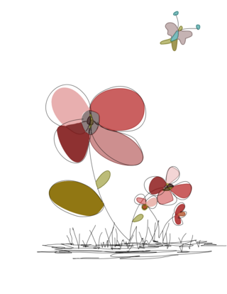 Flower drawing5