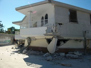 Orphanage collapsed