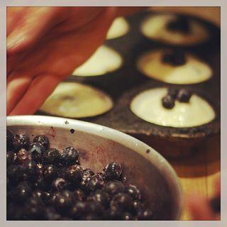 Blueberry adding